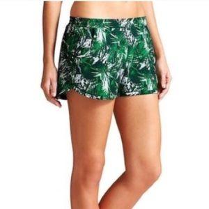 Athleta Palm Print Shorts